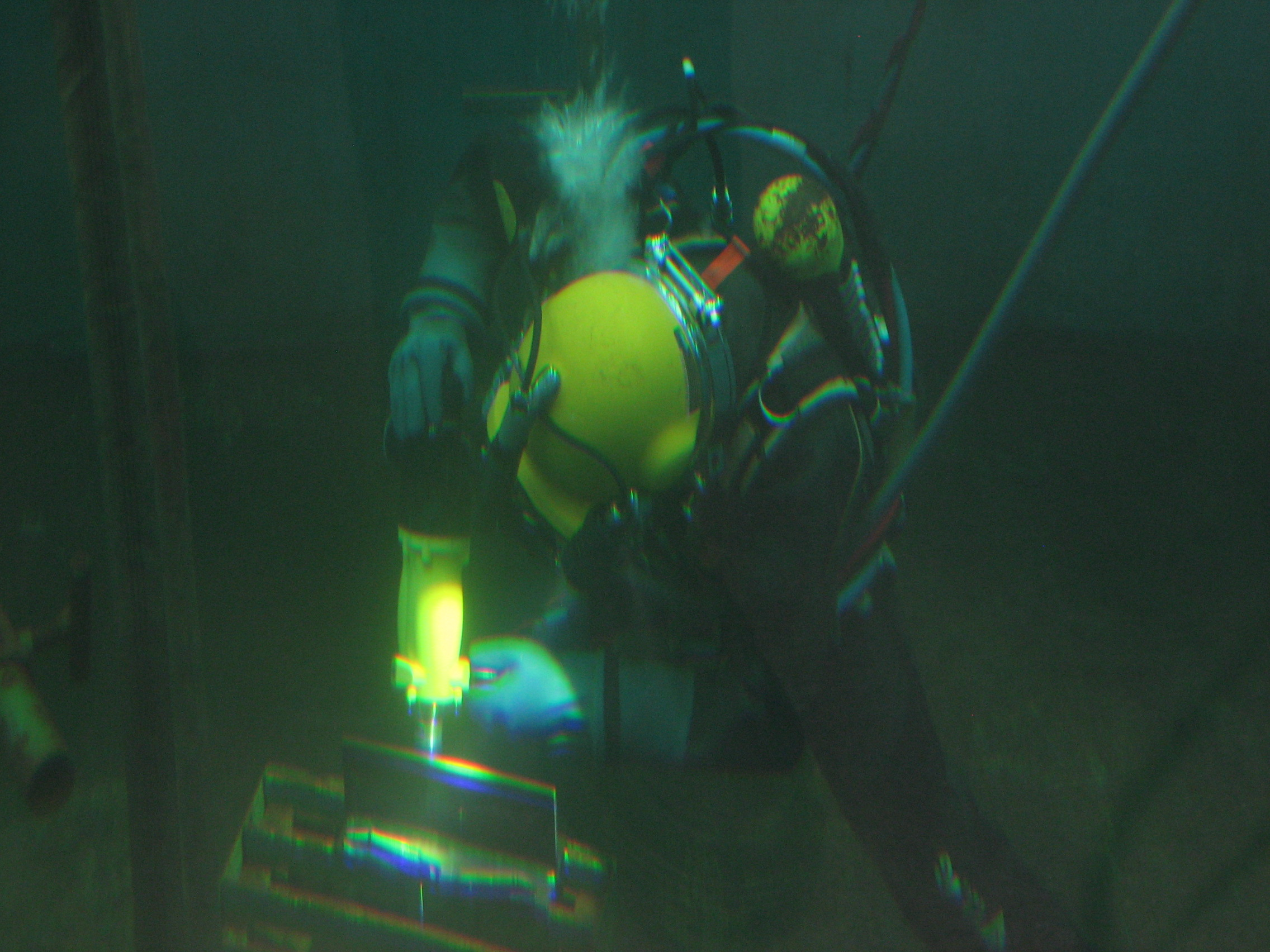HFMI - PIT System Weld Line 10 - Underwater device - Application under water
